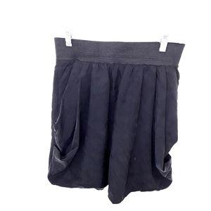 H&M Black Bubble Skirt Woman's Size 8